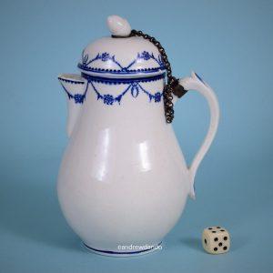 Tournai Porcelain Jug & Cover.