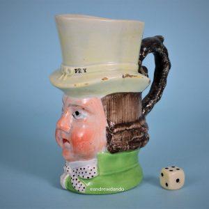 Staffordshire Paul Pry Mug (gr/j)