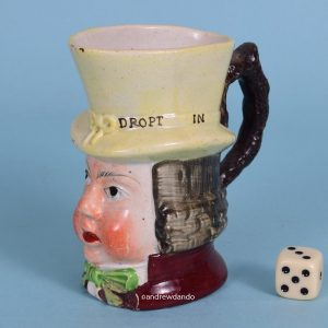 Staffordshire Pottery Paul Pry Mug (sm)