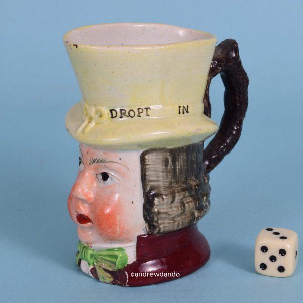 Staffordshire Pottery Paul Pry Mug (sm)