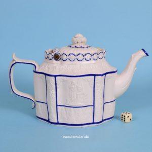 Feldspathic Stoneware Teapot