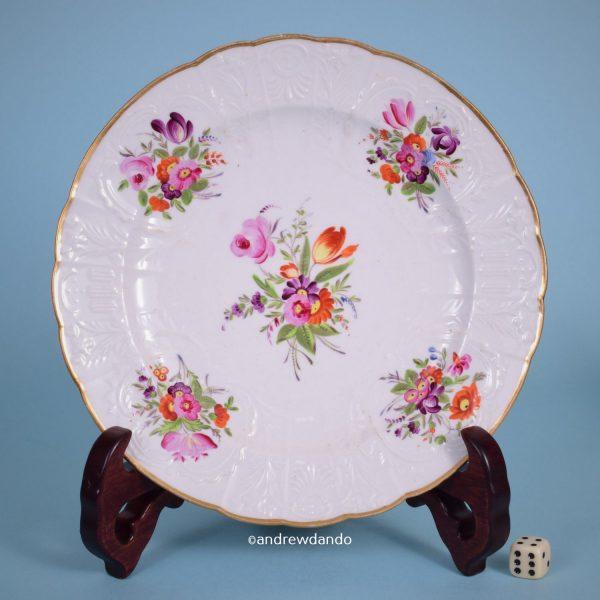 Coalport Floral Plate