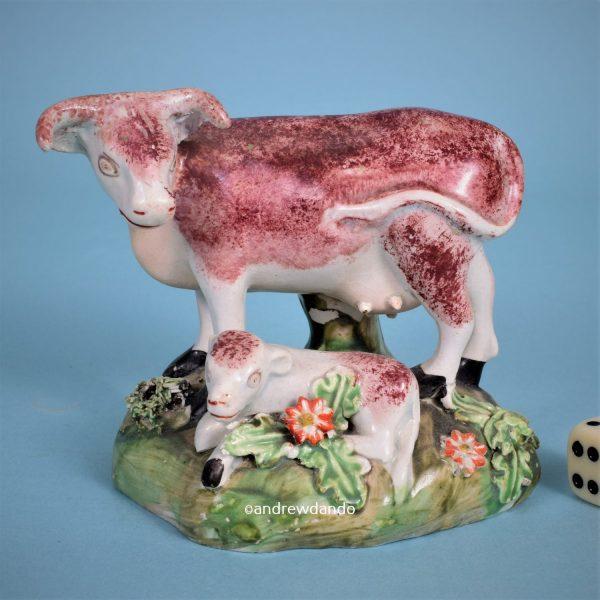Staffordshire Cow & Calf.