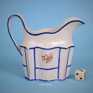 English feldspathic Stoneware Cream Jug.