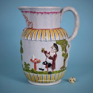 Staffordshire Pottery Jug