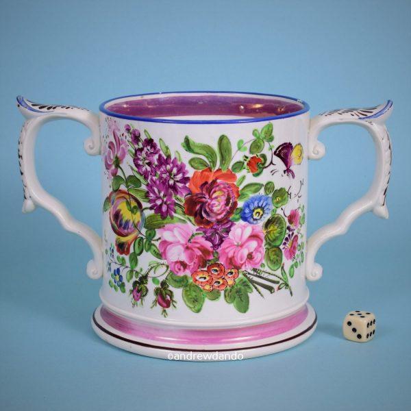 Bristol Pottery Loving Cup.