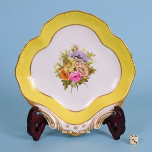 English Porcelain Dessert Dish