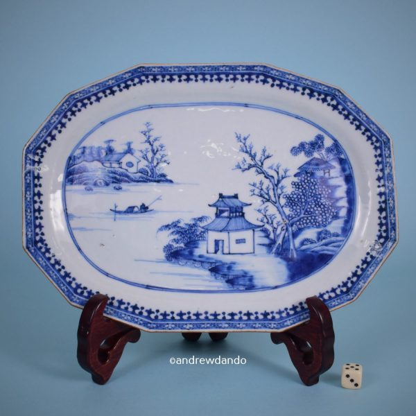 Chinese Export - Nanking Small Platter.