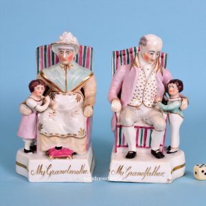 Pair of Staffordshire Grandparents.
