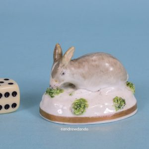 Staffordshire Porcelain Rabbit.