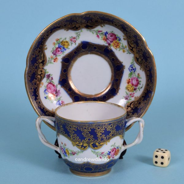 Chinese Export Porcelain Cup & saucer