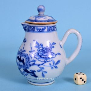 Chinese Export Jug & Cover.