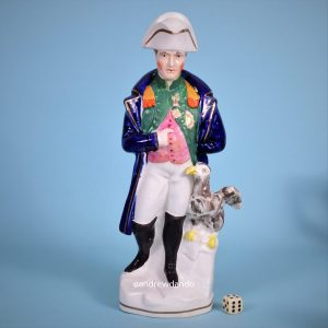 Staffordshire Figure of Napoleon.