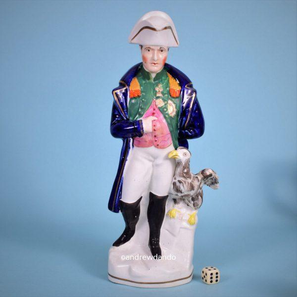 Staffordshire Figure of Napoleon.