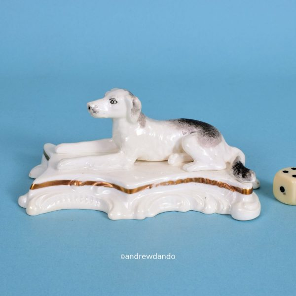 Staffordshire retriever on Rococo Base
