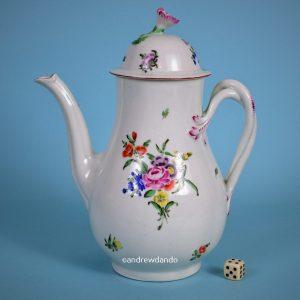 Worcester Porcelain Coffee Pot.