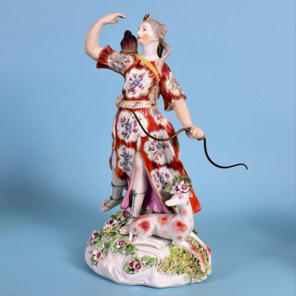 Derby Figure of Diana the Huntress (r)