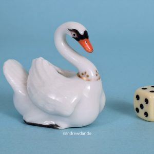 Worcester Porcelain Swan.