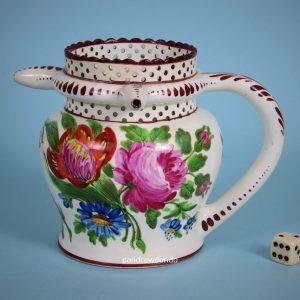 Bristol Pottery Puzzle Jug