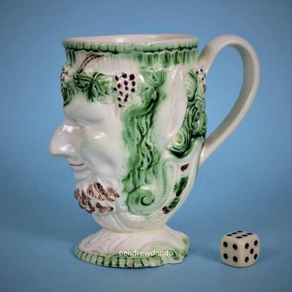 Early Staffordshire Satyr Mug.