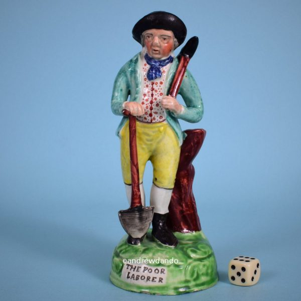 Staffordshire Figure of The Poor Labourer.