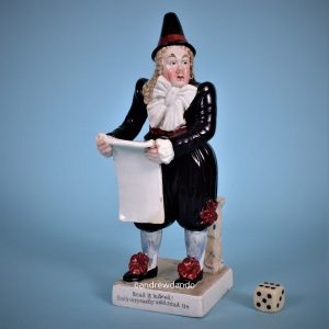 Staffordshire Theatrical Figure.