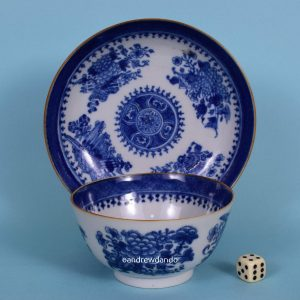 Chinese Export - Fitzhugh Tea Bowl & Saucer