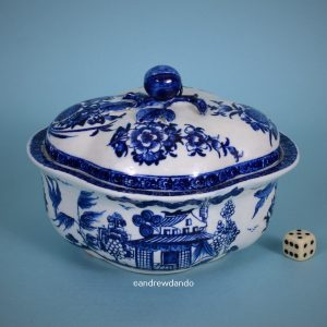 Derby Porcelain Sauce Tureen.