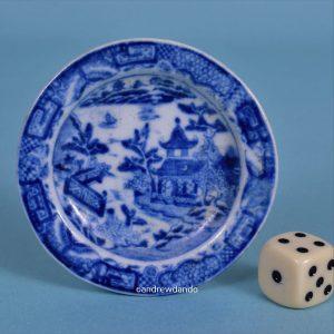 Staffordshire Miniature Plate.