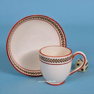 Wedgwood Miniature Coffee Cup & Saucer.