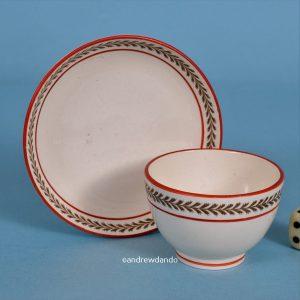 Wedgwood Miniature Tea Bowl & Saucer