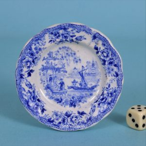 Staffordshire Miniature Plate