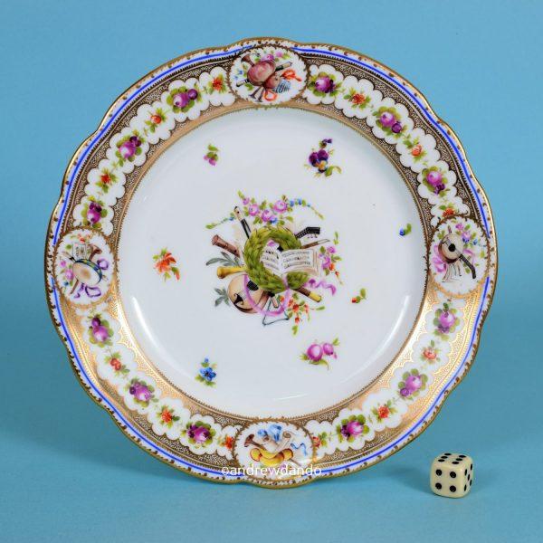 Nyon style porcelain plate.