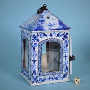 Dutch Delftware Lantern