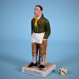 Staffordshire Figure of John Liston as Sam Swipes.