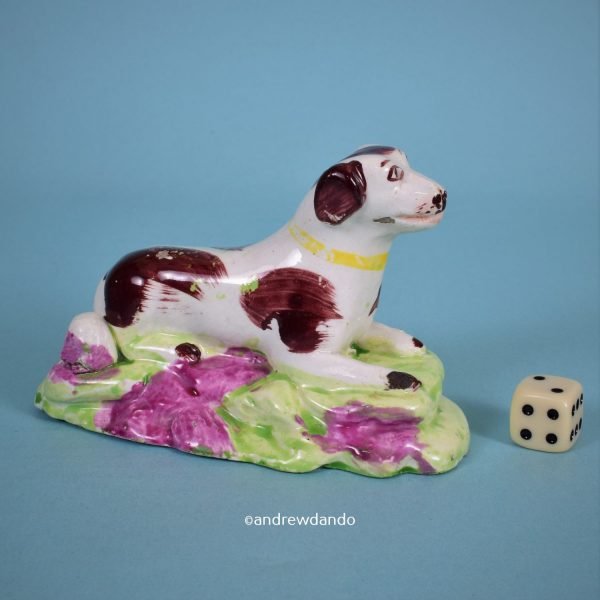 Staffordshire Pottery Dog.