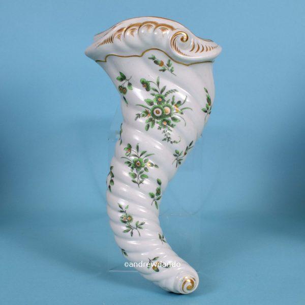 Worcester Porcelain Cornucopia.