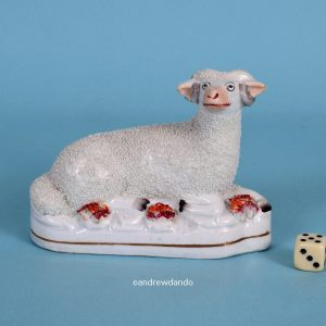 Staffordshire Model of a Sheep.