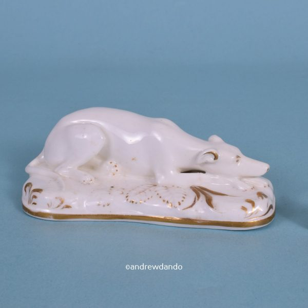 Grainger's Worcester Porcelain Dog.