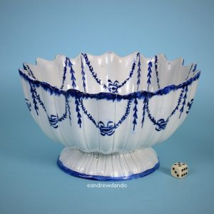 Staffordshire Pearlware Small Punch Bowl