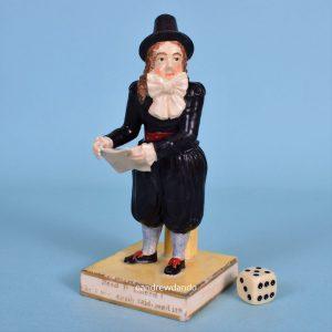 Derby Figure of John Liston as Van Dunder.