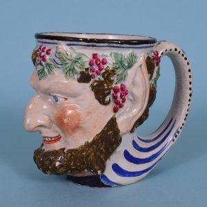 Staffordshire Bacchus Mug