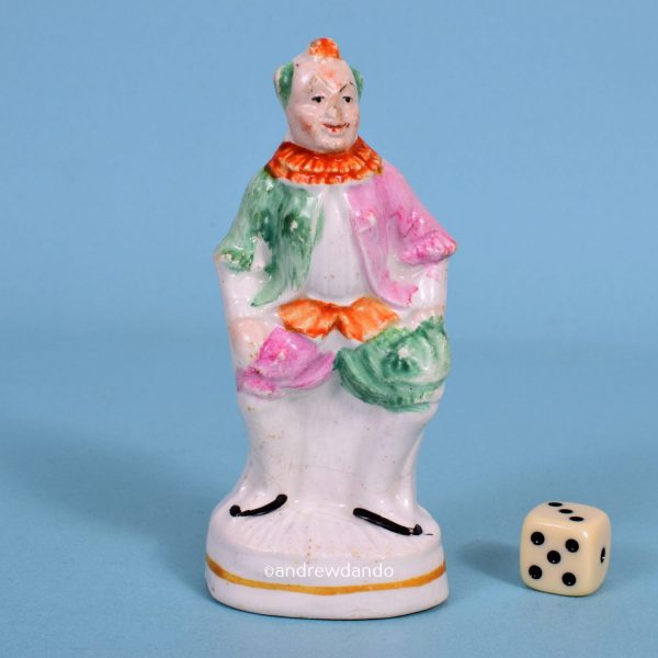 Staffordshire Figure of a Clown