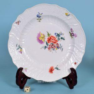 Meissen Porcelain Plate.