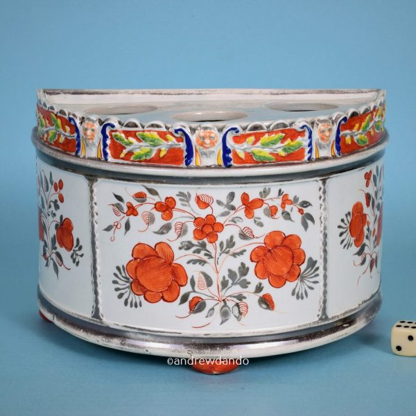 English Lustre Bough Pot.