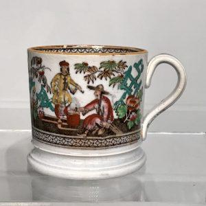 Staffordshire Chinoiserie Mug