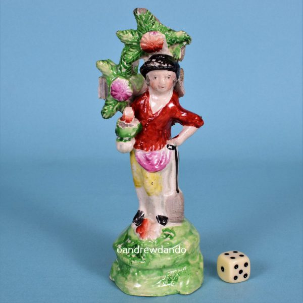 Staffordshire Figure of a Gardener