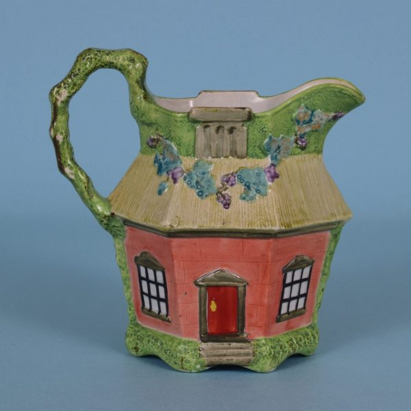 Staffordshire Cottage Jug