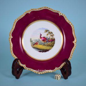 Flight, Barr & Barr Worcester Porcelain Plate.