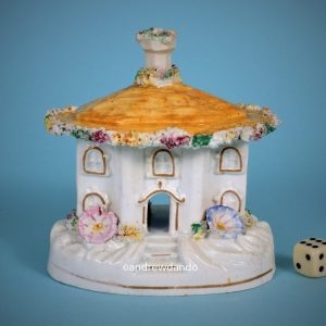 Staffordshire Cottage With Yellow Roof.